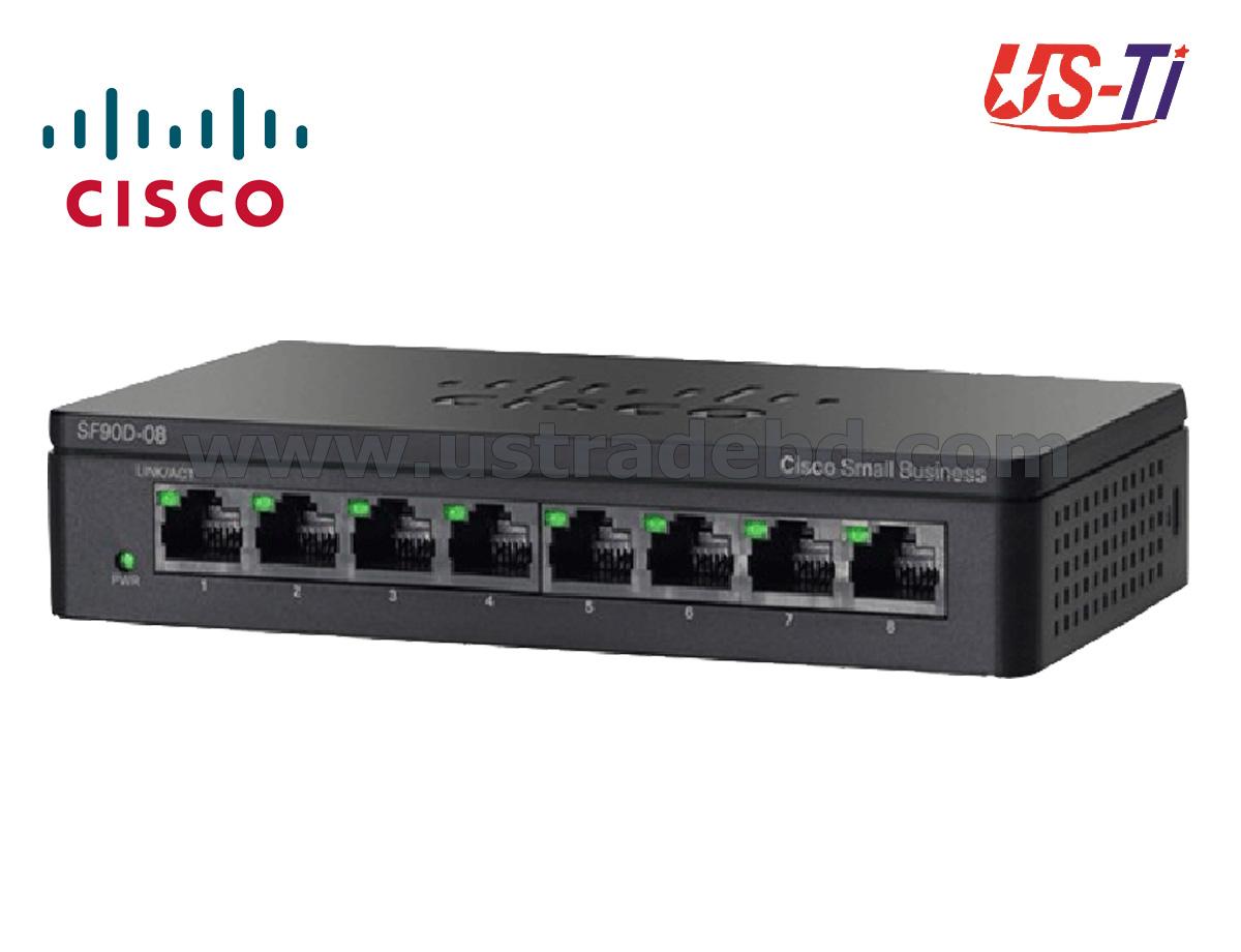 Cisco SG95D-08 8-Port Gigabit Unmanaged Desktop Switch