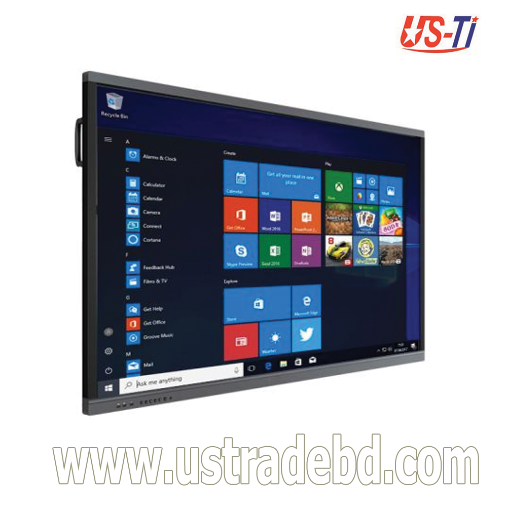 """Dopah ILD-1065 65"""" Multi Touch All-In-One Interactive LED Smarboard"""