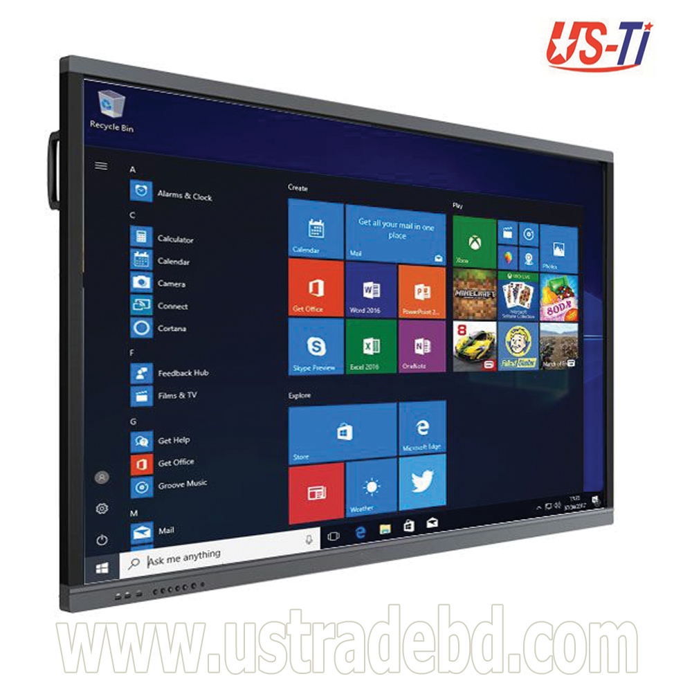"""Dopah ILD-1086 86"""" Multi Touch All-In-One Interactive LED Smartboard"""