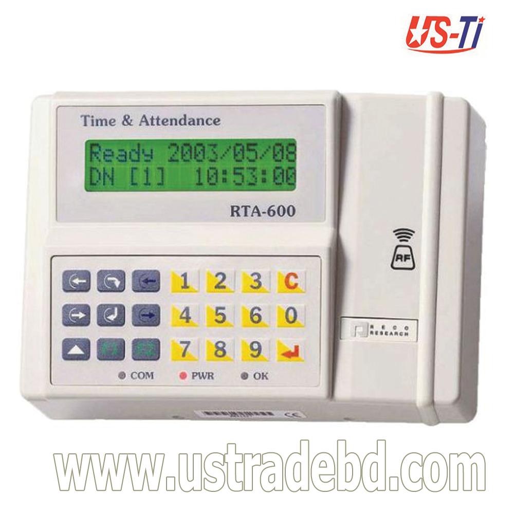 Hundure RTA 600, Time Attendance Access Control Device