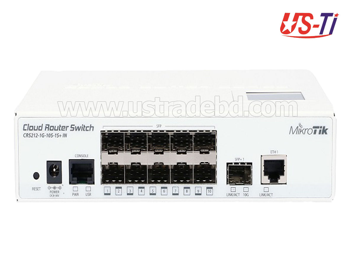 Mikrotik CRS212-1G-10S-1S+IN Switch