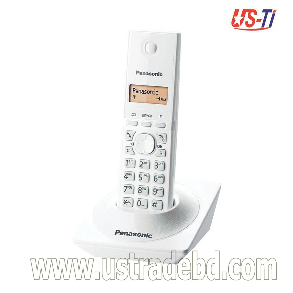 Panasonic KX-TG1711 Cordless White Phone Set