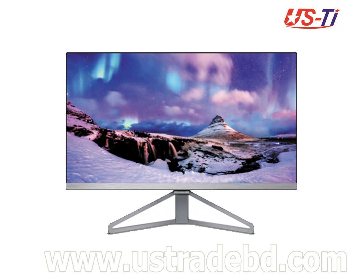 """Philips 245C7QJSB/69 23.8"""" slim monitor With ultra wide color"""