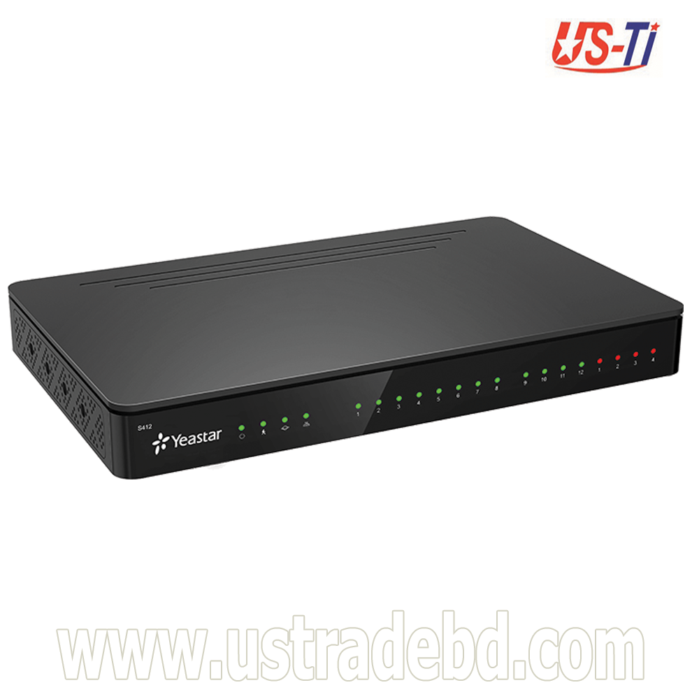 S412 VoIP PBX System for Small Business