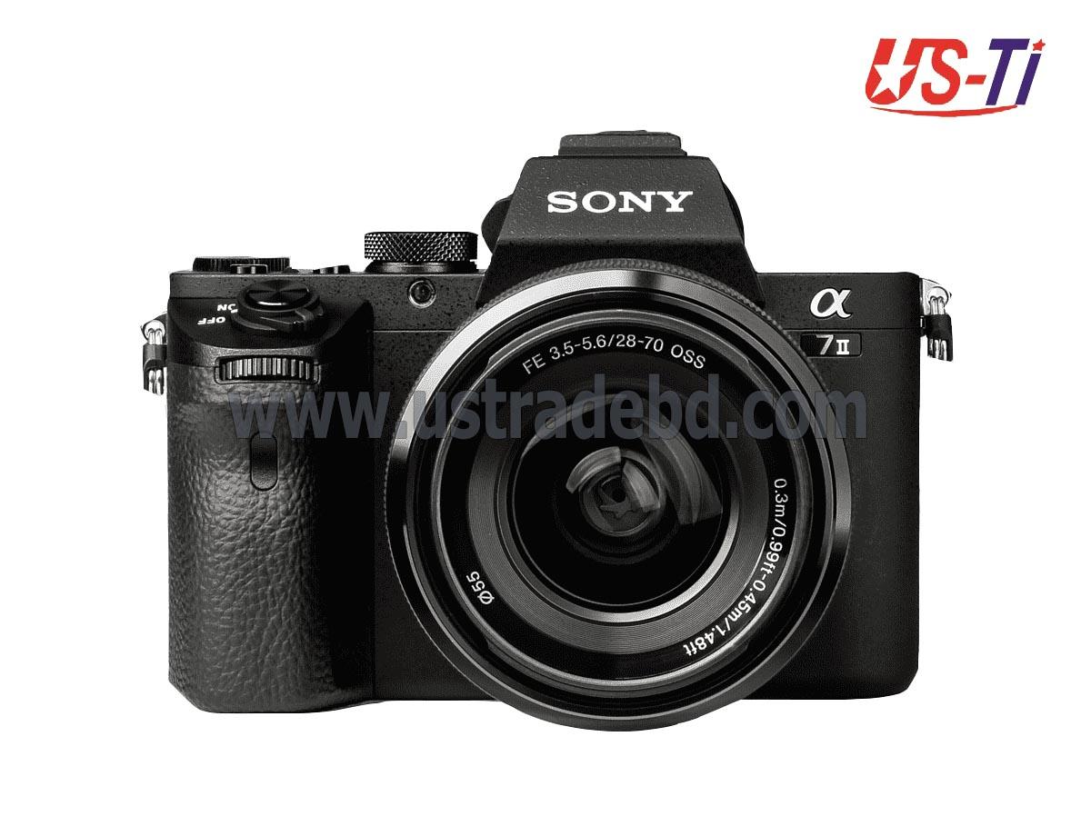 Sony A7 II ALPHA MIRRORLESS DIGITAL CAMERA (Only Body)
