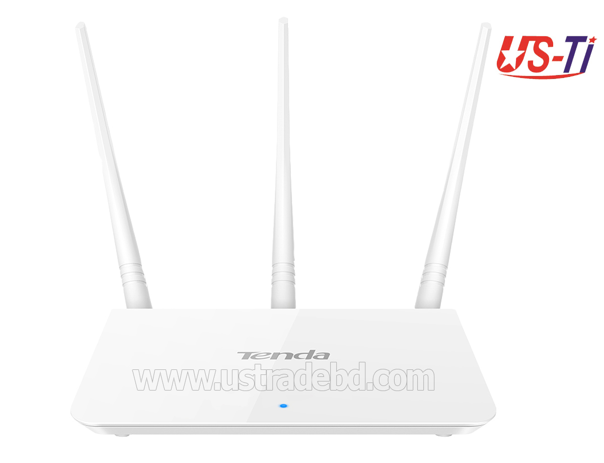 Tenda F3 300mbps 3 Antennas Router