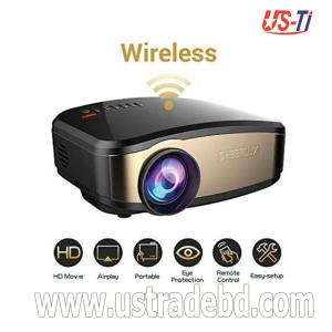 Cheerlux C6 WiFi Wireless Mini LED TV Projector