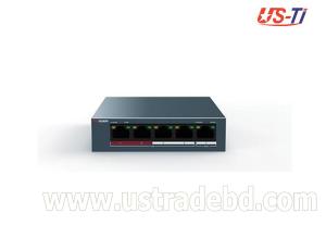 Hikvision DS-3E0105P-E/M Unmanaged PoE Switch 4 Port