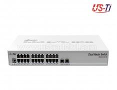 Mikrotik CRS326-24G-2S+RM 24 Gigabit port Mountable Rack Switch