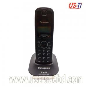 Panasonic KX-TG3411SX Cordless Front Black & Back White Phone Set