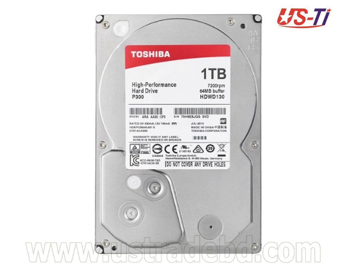 Toshiba 1TB 3.5 Inch SATA 1 TB